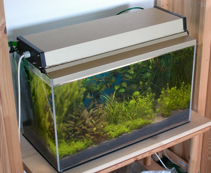 Aquarium Abdeckung Selbst Bauen : ... der Regel zu klein. Da ist dann ...